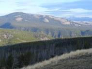 Washburn Range in morning sun