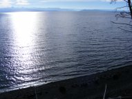 Yellowstone Lake from a point on the shore between Rock and Pumice Points