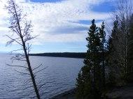 Western shore of Yellowstone Lake