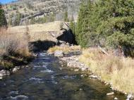 Clear Creek in the Jim Bridger Wilderness Area