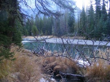 Green River near Elbow Creek