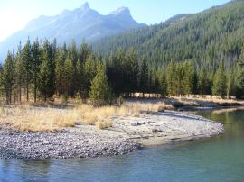 Rocky Mountain splendor, the Green River in the Wind River Range