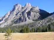 Granite spires above Three Forks Park