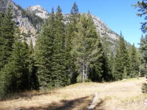 Trail crossing Trail Creek Park