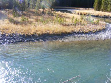 The Green River, near Beaver Park
