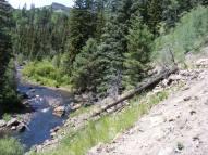 Elk Creek below the trail of the same name