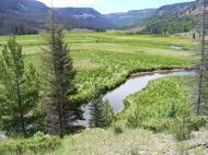 Elk Creek near the outlet from Second Meadows