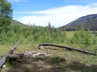 Camp in Second Meadows