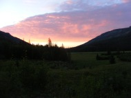 Dawn over Second Meadows
