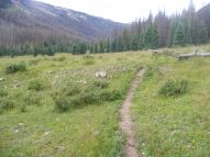 The Elk Creek Trail above Second Meadows