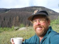 Having coffee in Second Meadows