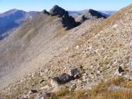 Craggy ridge south of Mount Harvard