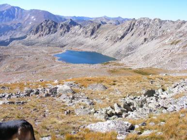 Bear Lake in Horn Fork Basin