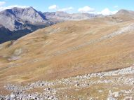 A windy day in the Sawatch Mountains, above Browns Pass
