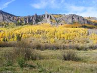 Hoodoos on Mill Creek, Gunnison National Forest