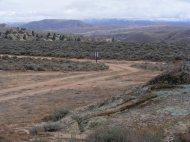 Looking east towards Fossil Ridge