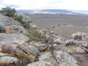 Looking west towards Big Mesa