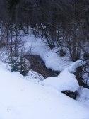Quartz Creek in Winter