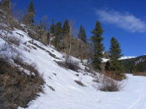 View on North Quartz Creek