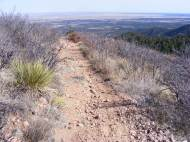 The Stultz Trail above the Great Plains