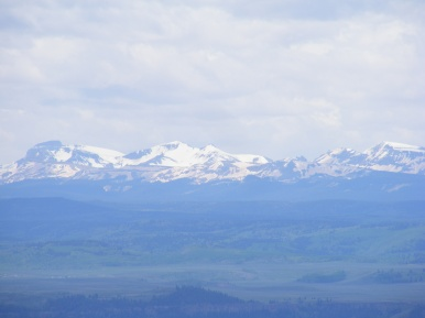 A close up of the mighty San Juan Mountains