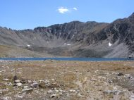 Upper Pomeroy Lake and Pomeroy Mountain
