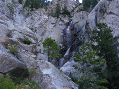 Agnes Vaille Falls in Cascade Canyon