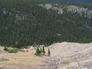 The area about the Mary Murphy Mine