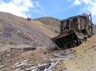 A tramhouse near the Molly Murphy Mine