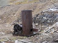 The Lidgerwood hoisting device at the Iron Chest Mine