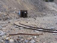 Extant track near the Molly Murphy Mine