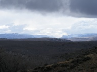 Storm clouds rolling in from the west over the Gunnison Country