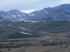Ohio Creek below, melted out during early Spring as the highlands retain their snow - The West Elk Mountains