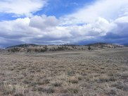 The sagebrush steppe above Cochetopa Canyon