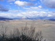Looking across Parlin Flats towards Cochetopa Dome