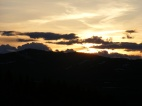 Sunsets are often grand in the Gunnison Country