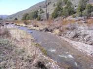 East Elk Creek on a fine Spring day