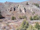 Hillside above East Elk Creek where the hoodoos are