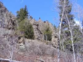 Hoodoos above Bear Wallow Gulch