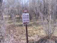 Bureau of Land Management, Gunnison Field Office, Road 3103 - notice the seasonal closures