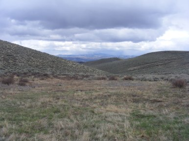 Looking south from the headwaters of Magpie Gulch
