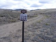 Managed by the Gunnison Field Office, Bureau of Land Management Road 3121