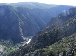 Looking downstream from Deadhorse Overlook