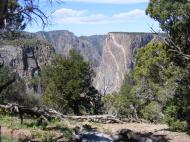 One last contemplative look at the Black Canyon of the Gunnison, specifically the Painted Wall, in a nice meadow near the North Rim Campground