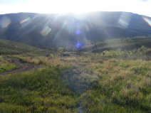 Sunburst over Flat Top