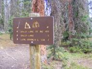 Signage for Trail 491