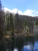One of the smaller Baldy Lakes