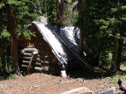 Old Cabin near Porphyry Basin
