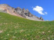 Alpine splendor in Porphyry Basin
