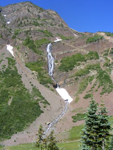 No wonder its called Cascade Mountain